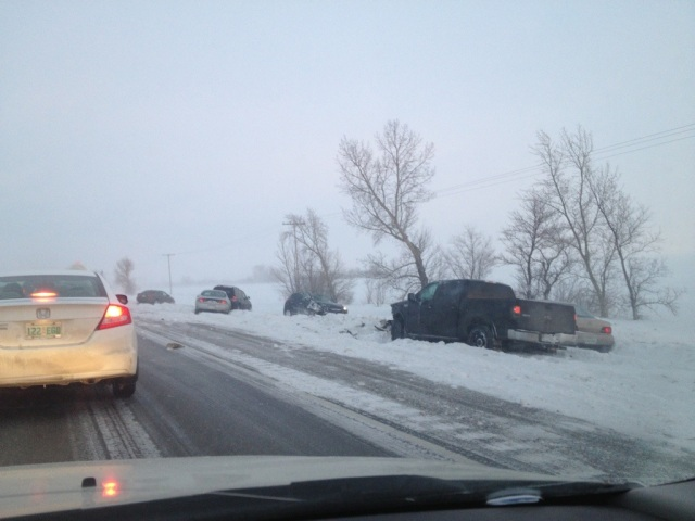Highway 1 accident Regina Moosejaw