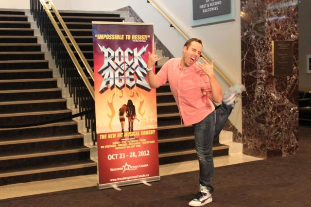 Rock of Ages Broadway Mr. Fab Make It Happen (2)