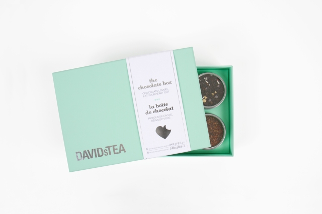 DAVIDs TEA Chocolate Box