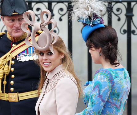 Royal princess beatrice facinator